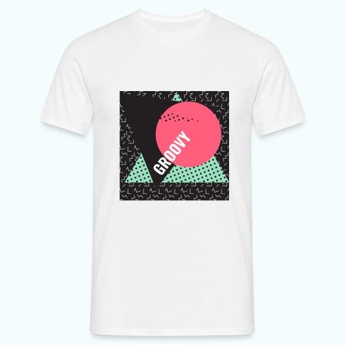 Groovy Retro Vintage - Men's T-Shirt