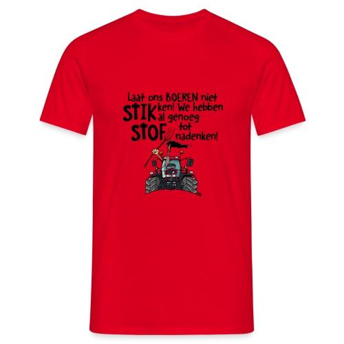 0505 stikstof - Mannen T-shirt