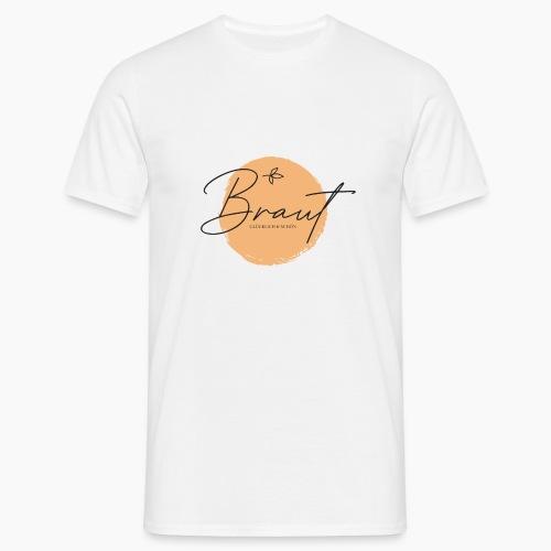 Braut - glücklich & schön - Men's T-Shirt