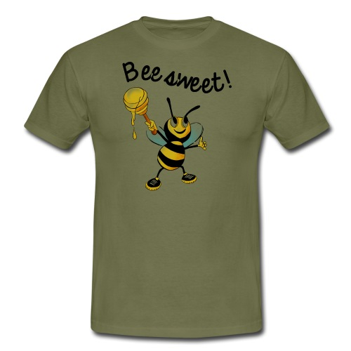 Bees7-2 Bienen sind süß | save the bees - Men's T-Shirt