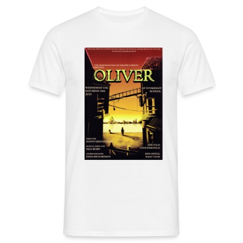 oliverposter120dpi - Men's T-Shirt