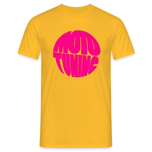 MotoTuning Pink - Men's T-Shirt