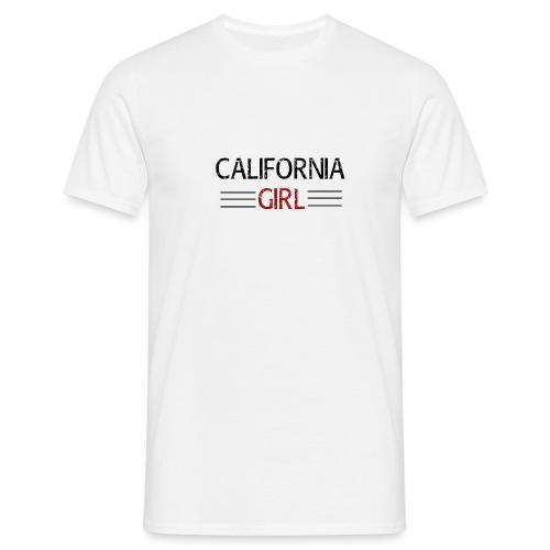 california girl - Männer T-Shirt