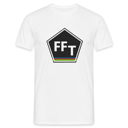 FFT logo colour (Fastfitnesstips) - Men's T-Shirt