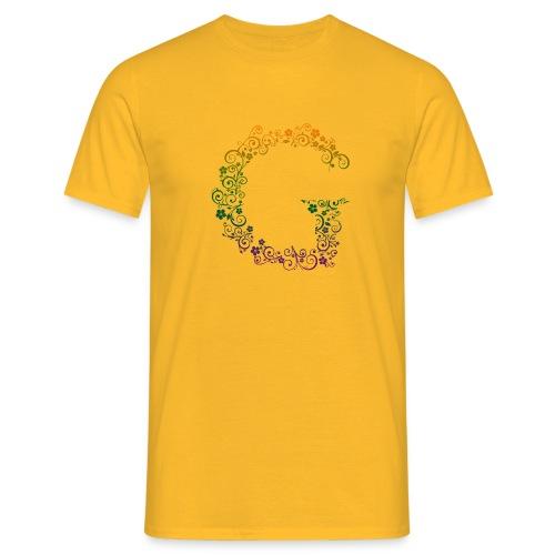 G wie Garten - Männer T-Shirt