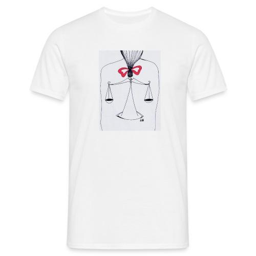 Libra Horoscope - T-shirt herr