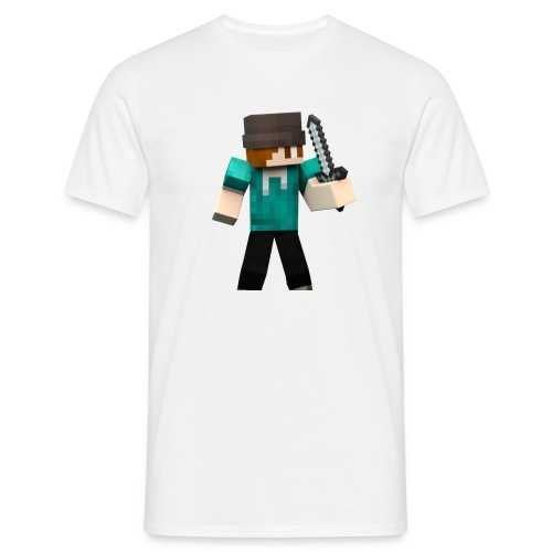 Logo Animierter Skin - Männer T-Shirt