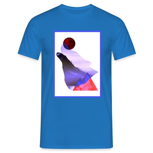 Måne Ulv - Laurids B Design - Herre-T-shirt