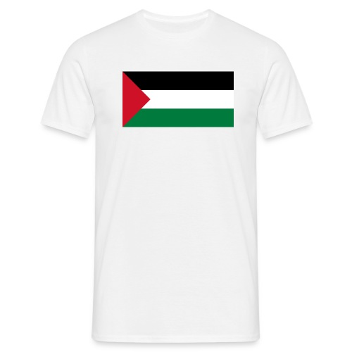 flag of palestine - Herre-T-shirt