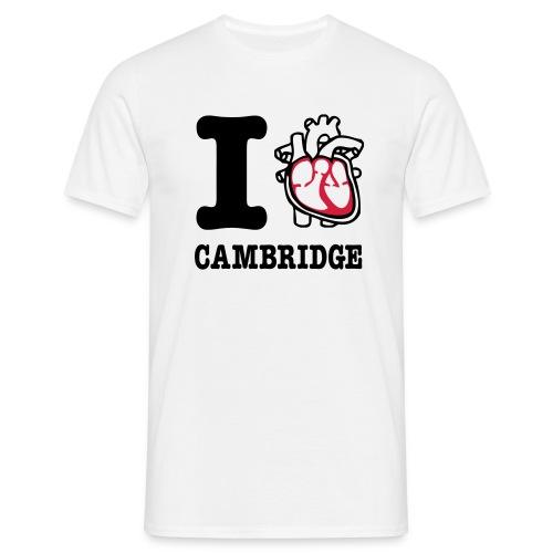 I Heart Cambridge - Men's T-Shirt