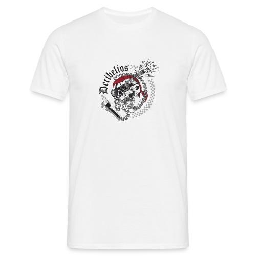 skull logo trans letras negras - Camiseta hombre
