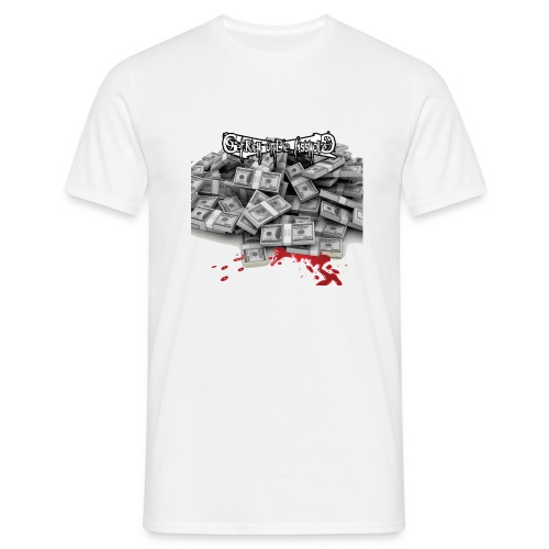 blood money of the people copie gif - T-shirt Homme