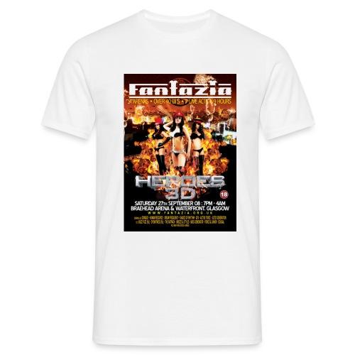Fantazia Heroes 3D - Men's T-Shirt