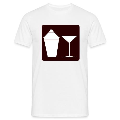 Alkohol - Männer T-Shirt