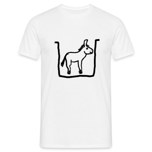 donkey (PNG) - Men's T-Shirt