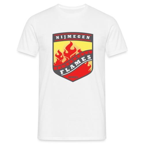 snapback pet rood/zwart combi - Mannen T-shirt