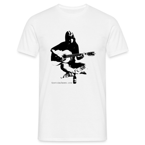 Cynthia Janes guitar BLACK - Men's T-Shirt