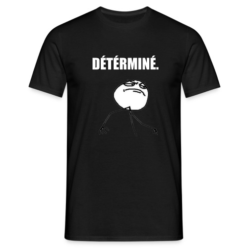 DÉTÉRMINÉ. - T-shirt Homme