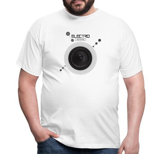 Electro Sound - Maglietta da uomo