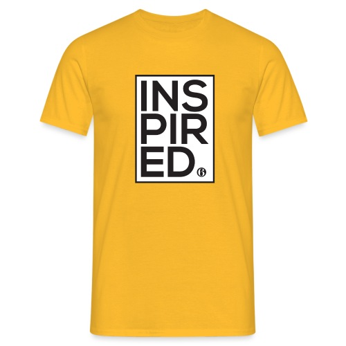Inspired6 Tee White - Men's T-Shirt