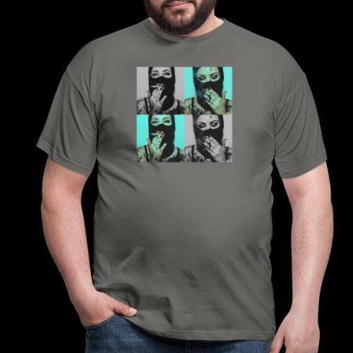 Caviar design presenting  The lady's - Männer T-Shirt