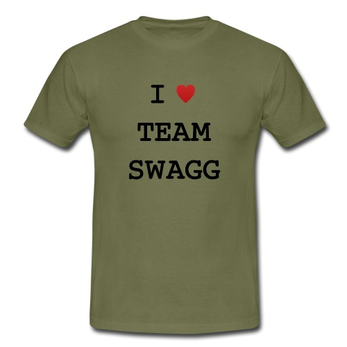 I LOVE TEAMSWAGG - T-shirt Homme