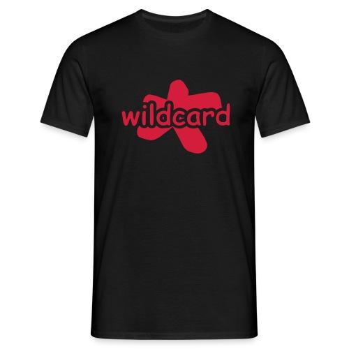 wildcard logo uni - Männer T-Shirt