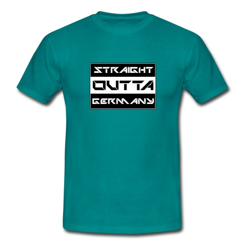 Straight Outta Germany - Männer T-Shirt