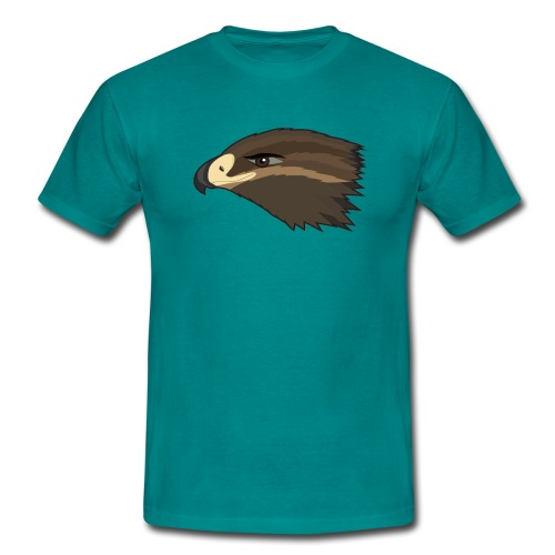 Happy Hawk - Männer T-Shirt