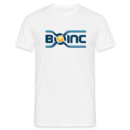 boinc logo 3dl 2557x1103 - Men's T-Shirt