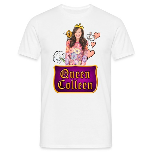 colleenisqueen03 1 copy - Men's T-Shirt