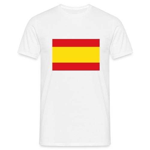 vlag van spanje - Mannen T-shirt