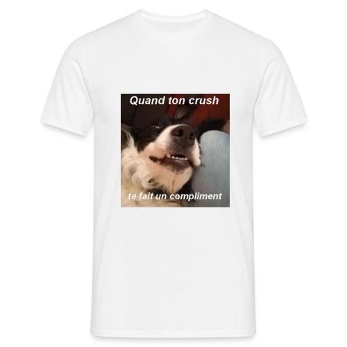 Maki Quand ton crush... - T-shirt Homme