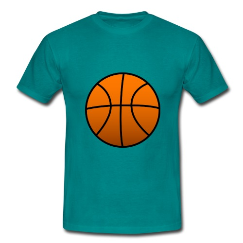 20150106 092905 basketball PNG1102 png - Mannen T-shirt