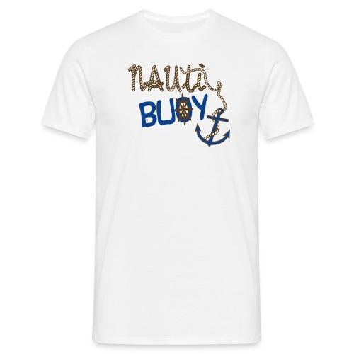 Nauti Buoy Nautical Boat Tee - Men's T-Shirt