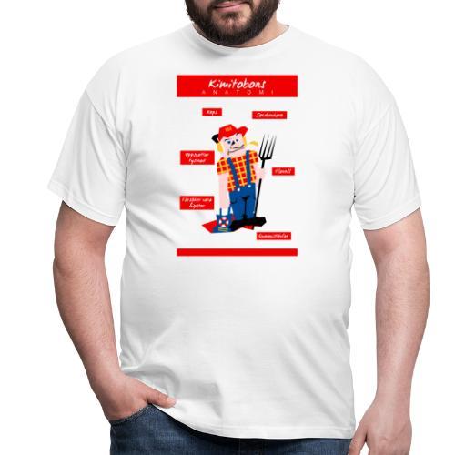 Kimitobons anatomi - Miesten t-paita