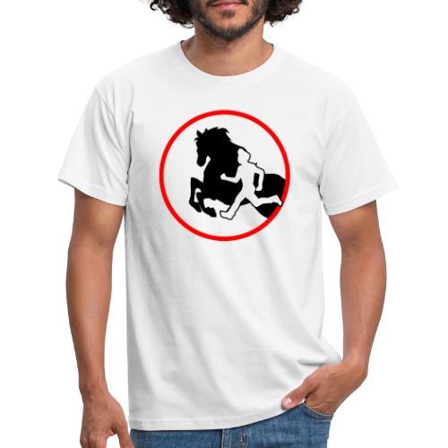 Horse Agility Logo - Männer T-Shirt