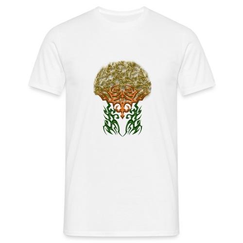 Golden Brain - Männer T-Shirt