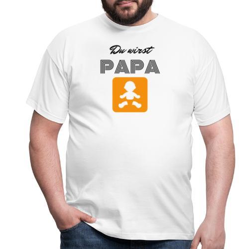 Du wirst Papa - Männer T-Shirt