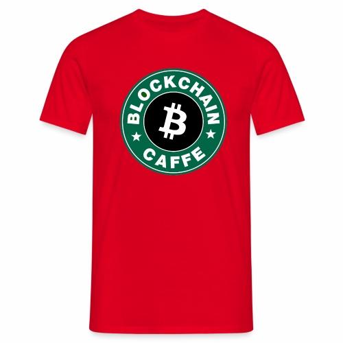 BlockChain Caffè Logo - Maglietta da uomo