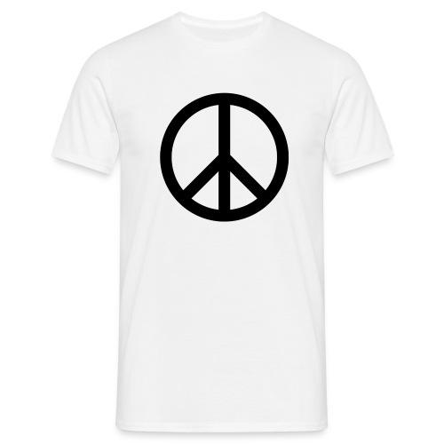 Peace Teken - Mannen T-shirt