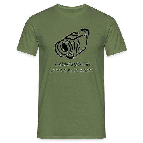 Logo akkerspotter - Mannen T-shirt