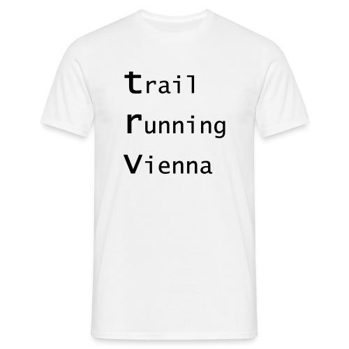 TRV Black 3zeilig - Männer T-Shirt