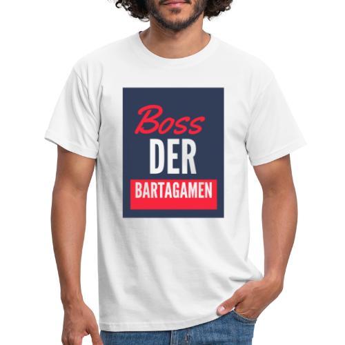 Boss der Bartagamen LOGO - Männer T-Shirt