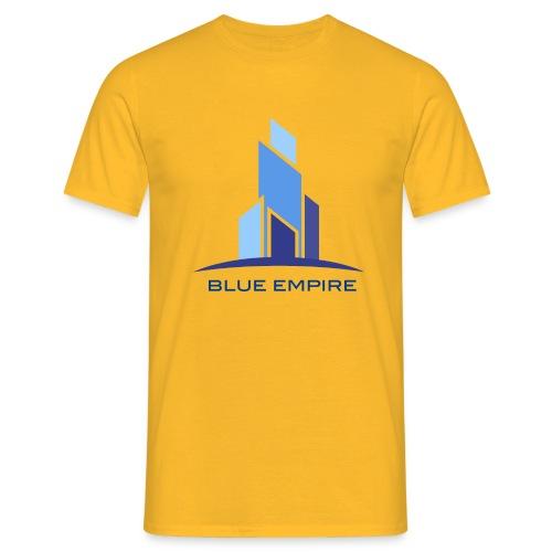Logo Azul - Camiseta hombre