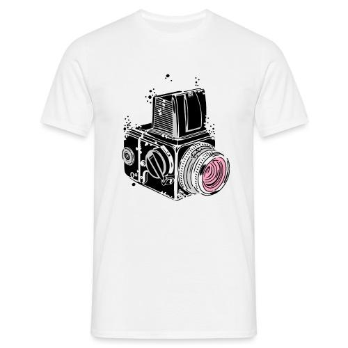 Desintegrating camera - Men's T-Shirt