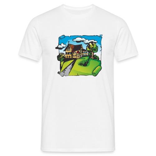 Willofs Logo farbig - Männer T-Shirt