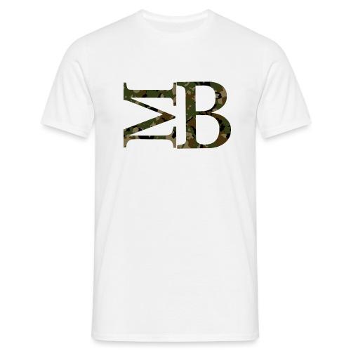 camouflage logo - Men's T-Shirt