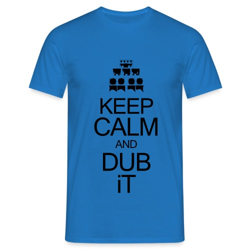 keepcalmblack - T-shirt Homme