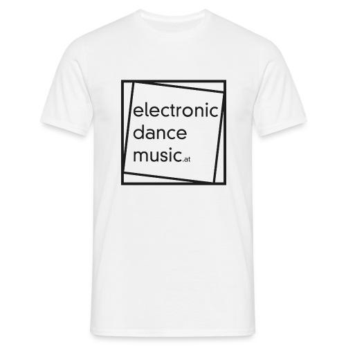 electronicdancemusic.at schwarz - Männer T-Shirt